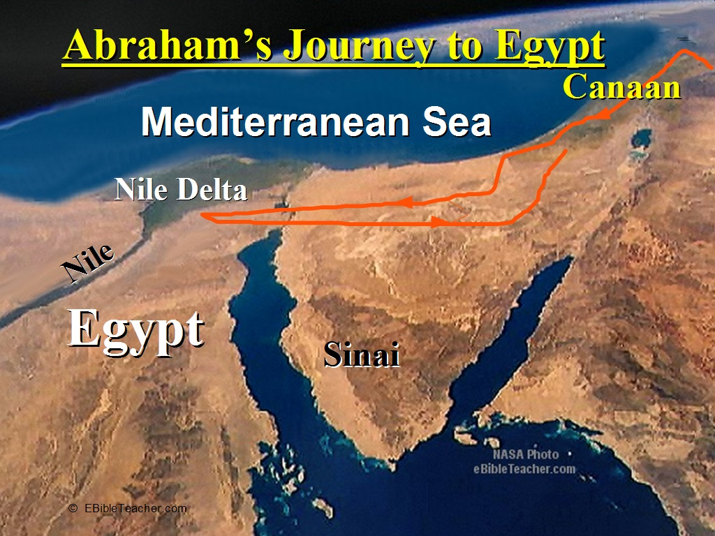 Abrahams Journey to Egypt 1024